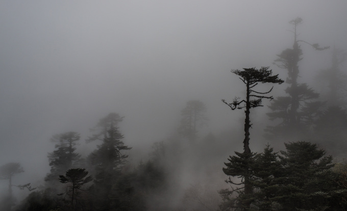 Half of Bhutan territory is on 3000 meters altitude, nearly 700 000 inhabitants.